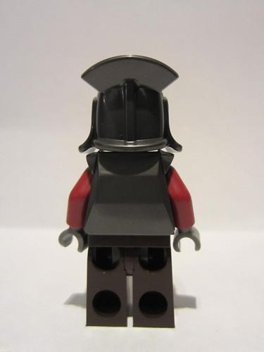 LEGO Pearl Dark Gray Headgear Helmet Castle with Lateral Comb Minifig