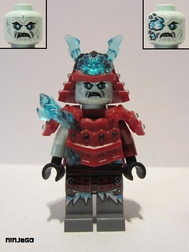 Minifig Armor Space with Shoulder Protection LEGO Trans-Light Blue