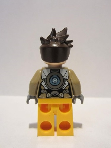 Lego New Dark Brown Minifigure Hair Angular and Spiky with Parted Bangs