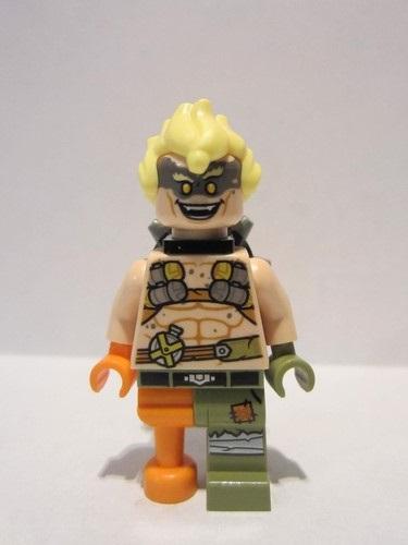 ow016 BRAND NEW! Junkrat - LEGO Minifigure - Overwatch Set 75977