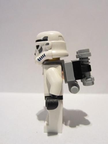 Orange Pauldron Cloth w// Black Neck /& 4 Thin Black Minifig LEGO Star Wars