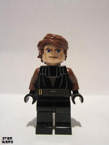 LEGO Anakin Skywalker Ahsoka Tano and Senate Commando Star Wars Magnet Set