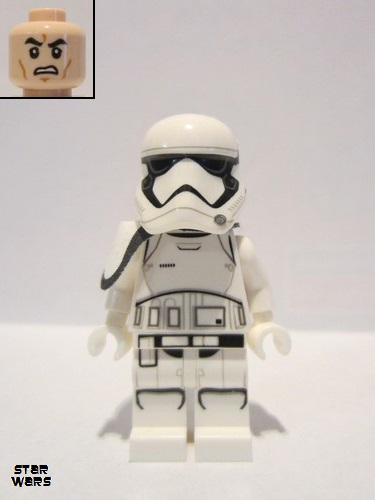 Star Wars LEGO® White Pauldron Cloth for First Order Squad Leader Minifigs 75190