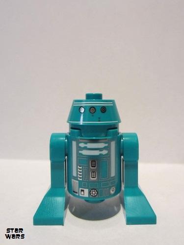 Lego Figure Astromech Droid Dark Turquoise sw1052