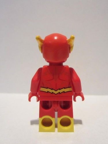 NEW LEGO The Flash sh549 Gold Outlines FROM SET 76117 SUPER HEROES