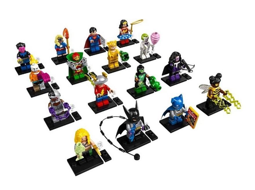 LEGO Minifigure Torso Brown Stripes Magenta Left Side Orange Arm Right DC