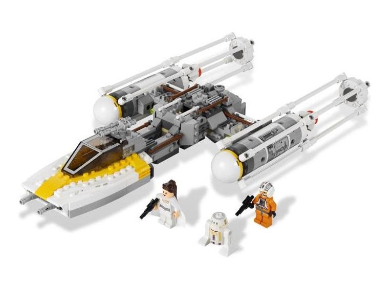 Headgear Rebel Pilot Y-wing White Grid 9495 Starfighter Star Wars NEW LEGO
